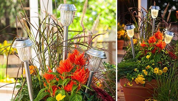 28 cheap easy diy solar light projects for home garden balcony garden web. Black Bedroom Furniture Sets. Home Design Ideas