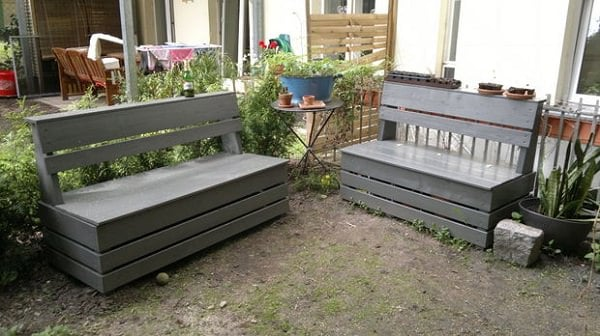 Have Fun And Be Creative; A Garden Storage Bench