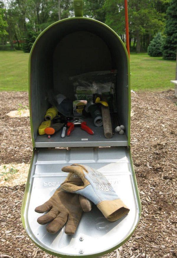 21 Most Creative And Useful Diy Garden Tool Storage Ideas