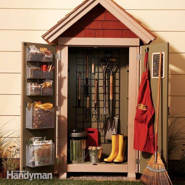 21 Most Creative And Useful Diy Garden Tool Storage Ideas
