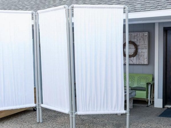 Freestanding Privacy Screens : Diy garden privacy ideas that are affordable