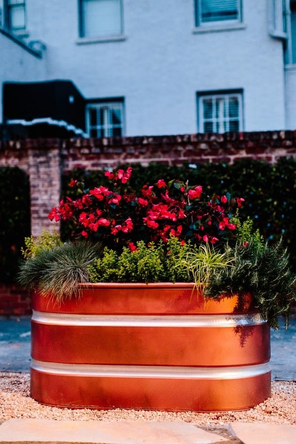 Backyard Garden Tutorial : Diy ways to reuse stock tanks in the home garden