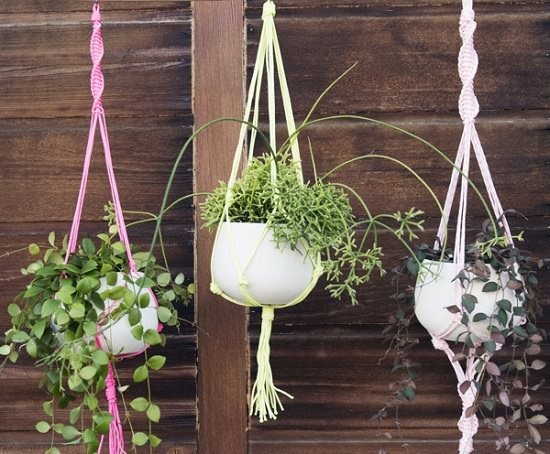 23 Most Amazing Macrame Plant Hangers Diy Ideas Balcony Garden Web