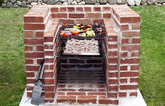Built In Barbecue Pit