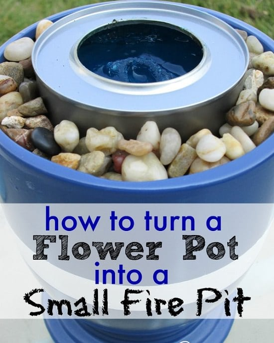DIY Flower Pot Fire Pit