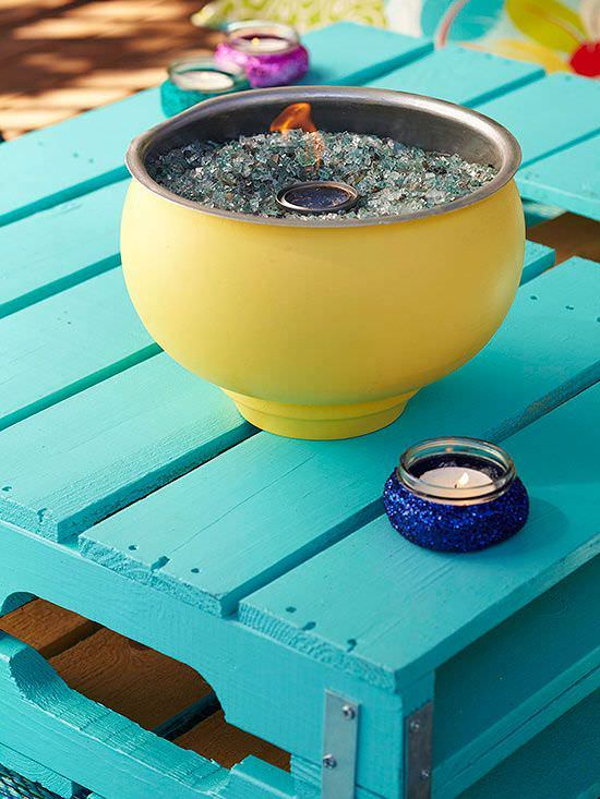 21 Warm Diy Tabletop Fire Bowl Fire Pit Ideas For Small