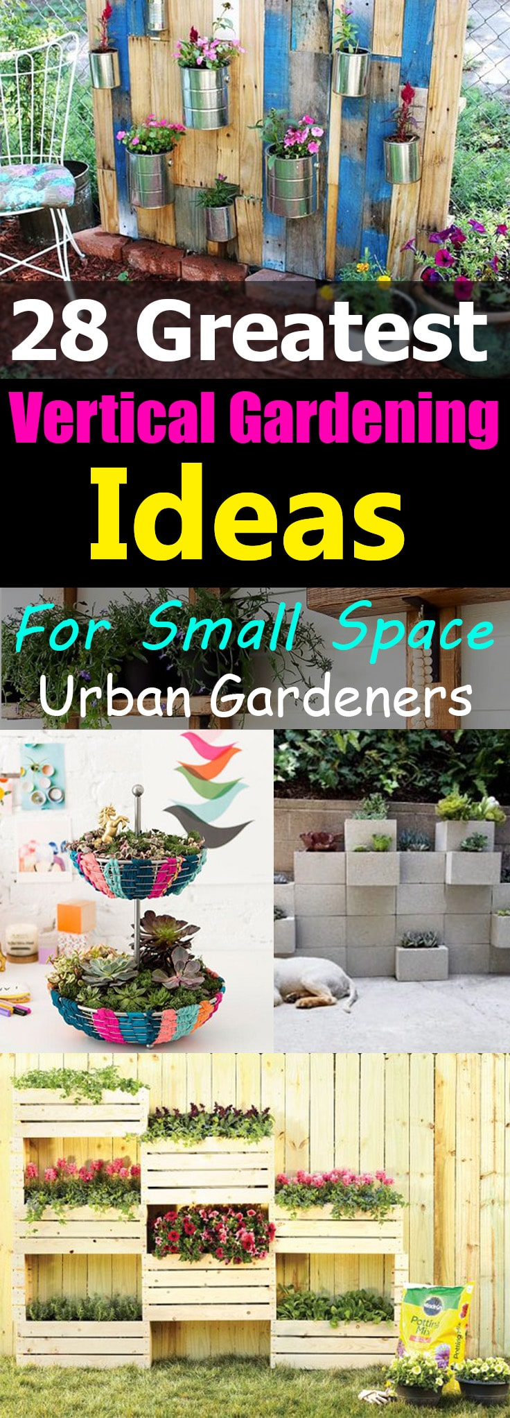 28 greatest vertical gardening ideas for small space urban gardeners little to no place for gardening learn how to create a lot of planting space workwithnaturefo
