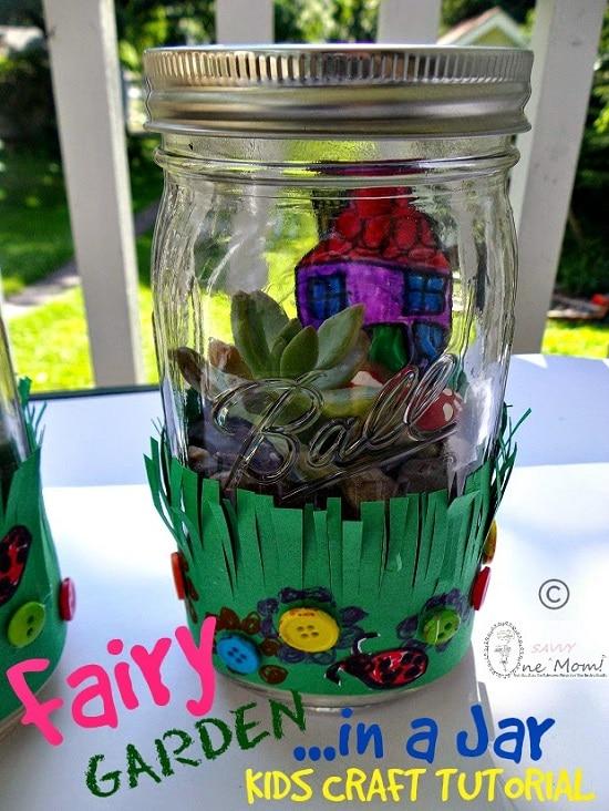 14 Alluring Mason Jar Fairy Garden Ideas You Should Look