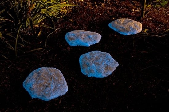 Let Your Walkway Glow At Night Using Just A Few Rocks And Glow In The Dark  Paint. This DIY Is One Of The Easiest Projects To Accomplish.