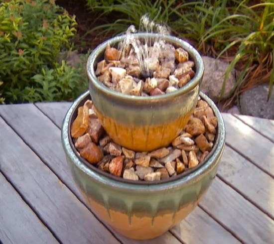 Diy Water Fountain Ideas 14 diy container water fountain ideas that are easy and cheap diy 2 tier fountain workwithnaturefo