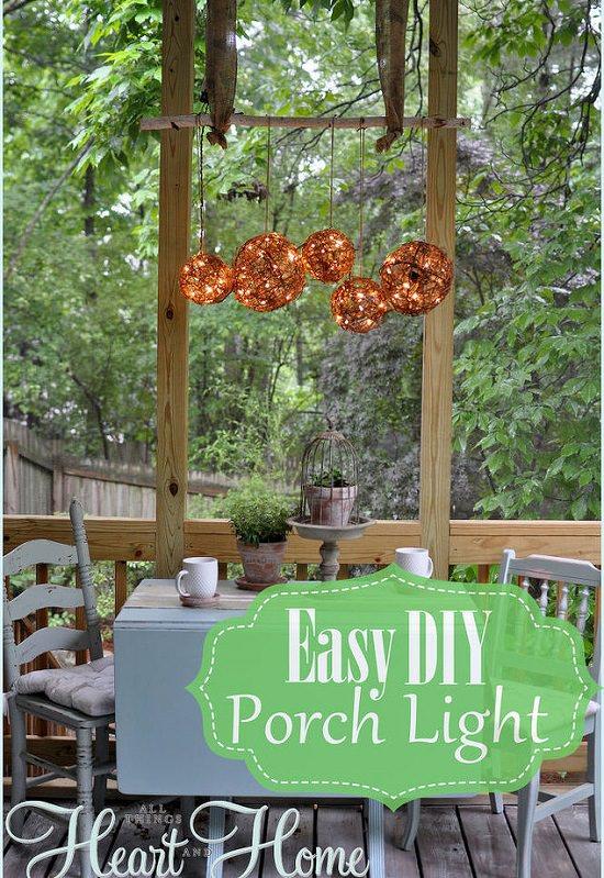 31 diy garden ornaments projects to beautify your garden balcony diy outdoor light solutioingenieria Image collections