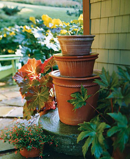 Cheap Pond Ideas: 12 Soothing DIY Container Water Feature Projects