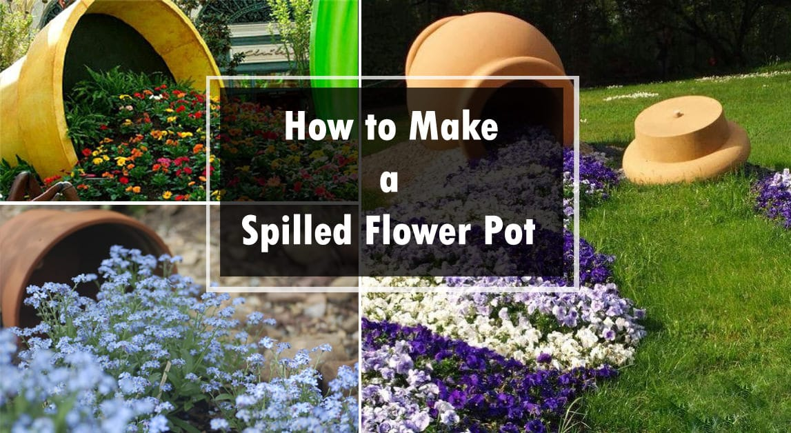 Balcony Garden Web & Make a Spilled Flower Pot | Garden Design Idea