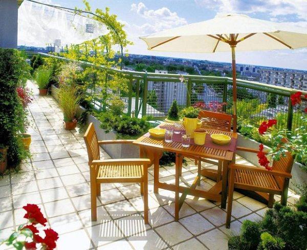 Balcony Flooring Ideas