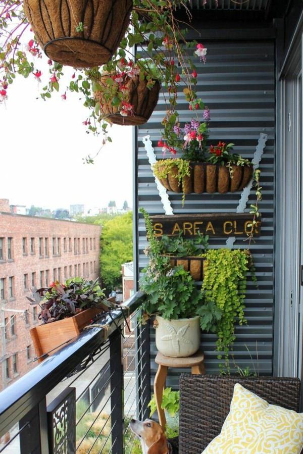 Vertical Balcony Garden Ideas | Balcony Garden Web on Backyard Patio Landscaping id=15037