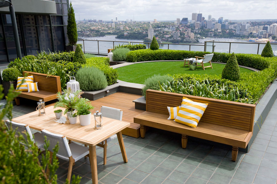 Roof Garden Construction | Step by Step Details