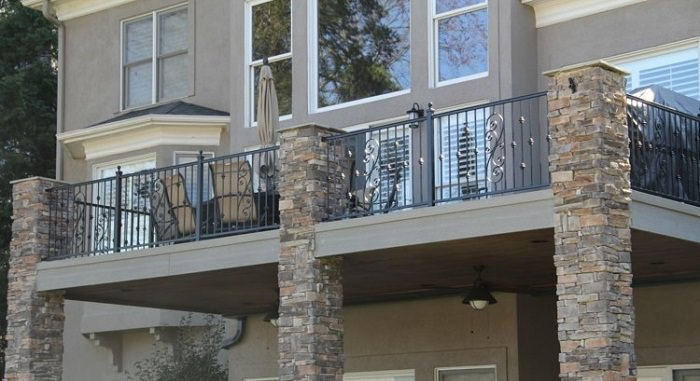 Front Elevation Railing Design : Balcony railing designs pictures you must look at