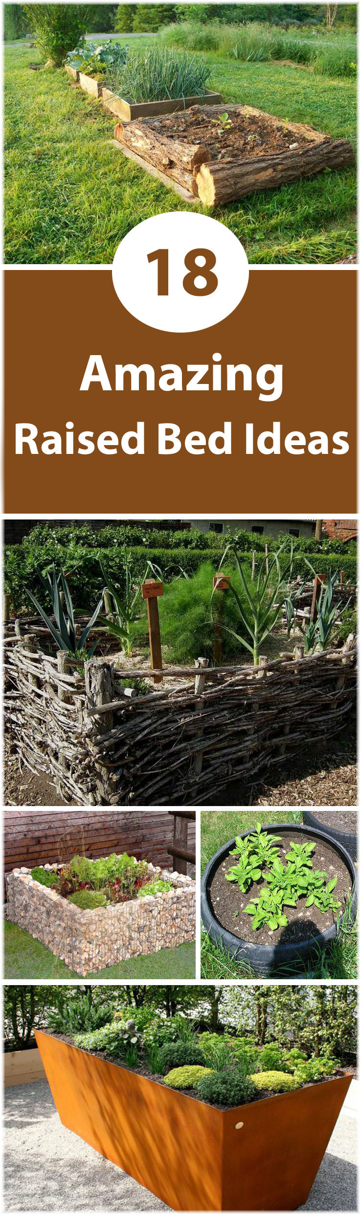 18 Great Raised Bed Ideas | Raised Bed Gardening | Balcony ... on Backyard Raised Garden Bed Ideas id=57832