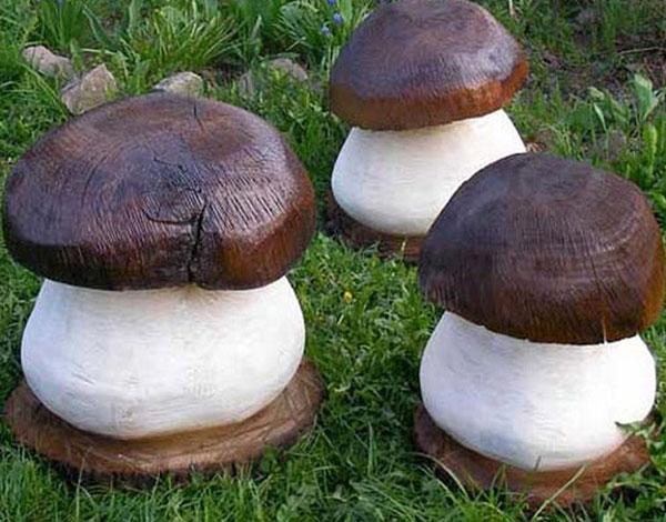 Mushroom Tree Stump