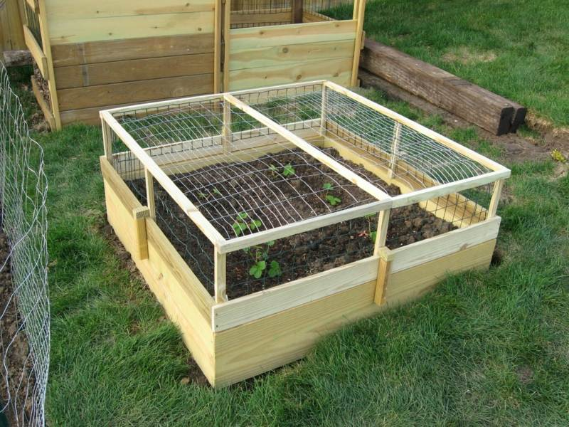 Garden Design For Raised Beds: 18 Great Raised Bed Ideas