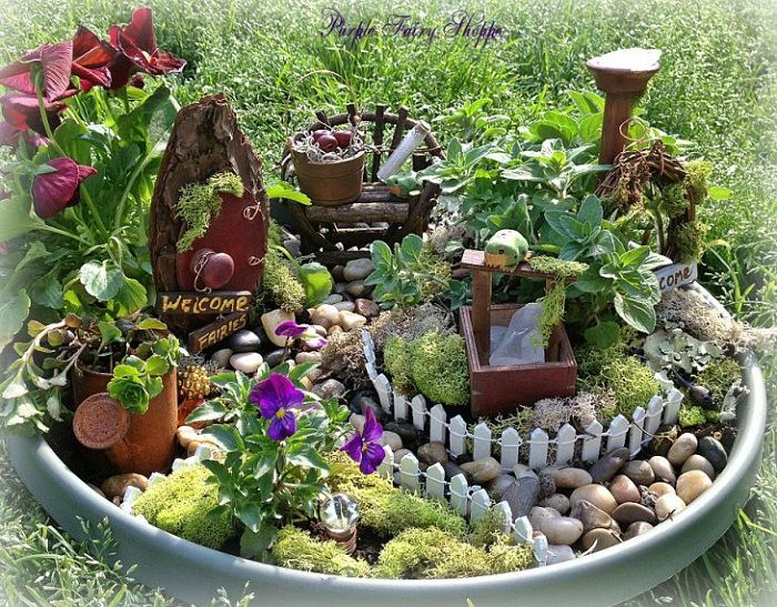 Charmant DIY Fairy Garden Ideas 3