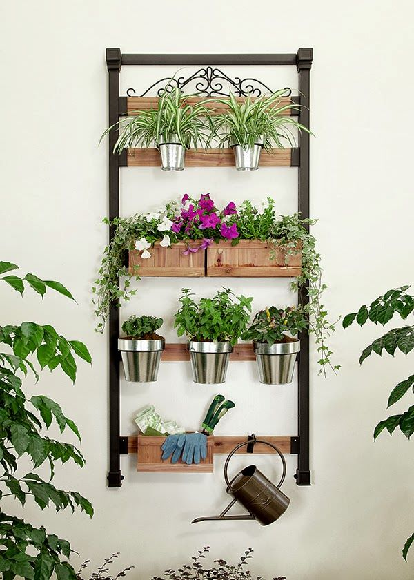 16 Genius Vertical Gardening Ideas For Small Gardens