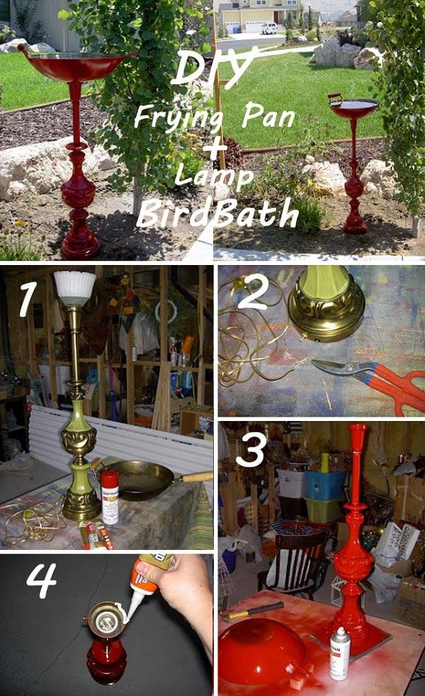frying-pan-lamp-birdbath