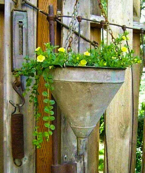 funnel planter