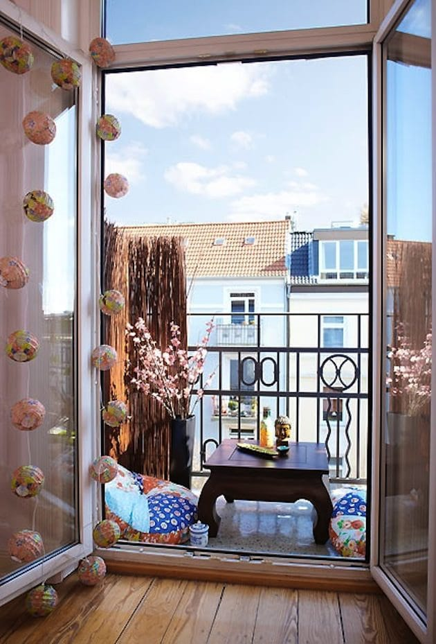 Apartment Balcony Storage