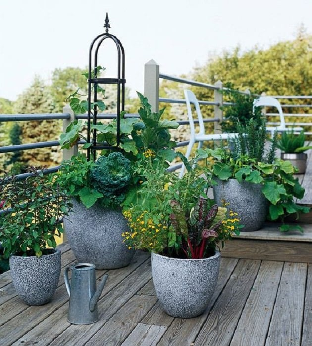 Vegetable Garden Design Ideas: 15 Stunning Container Vegetable Garden Design Ideas & Tips