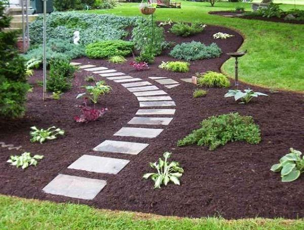 19 DIY Garden Path Ideas With Tutorials | Balcony Garden Web on Backyard Pathway Ideas id=72754