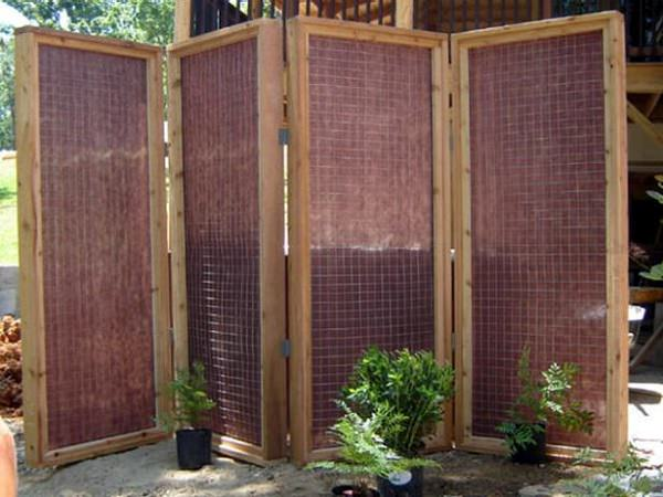 Itu0027s An Another Privacy Screen Idea To Try But Only If Youu0027ve Some  Carpentry Skills. Visit The Diy Network To Learn The DIY.