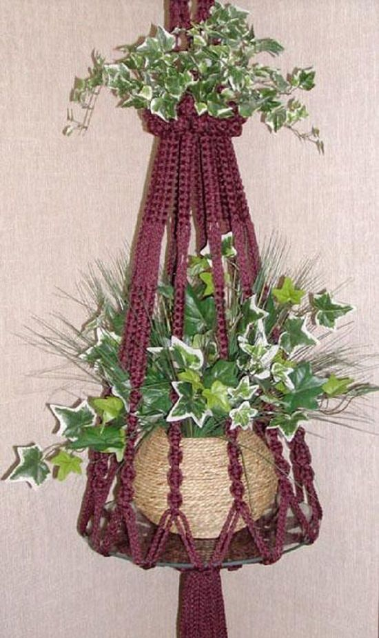 diy macrame hanging planter 23 most amazing macrame plant hangers diy ideas balcony 8326