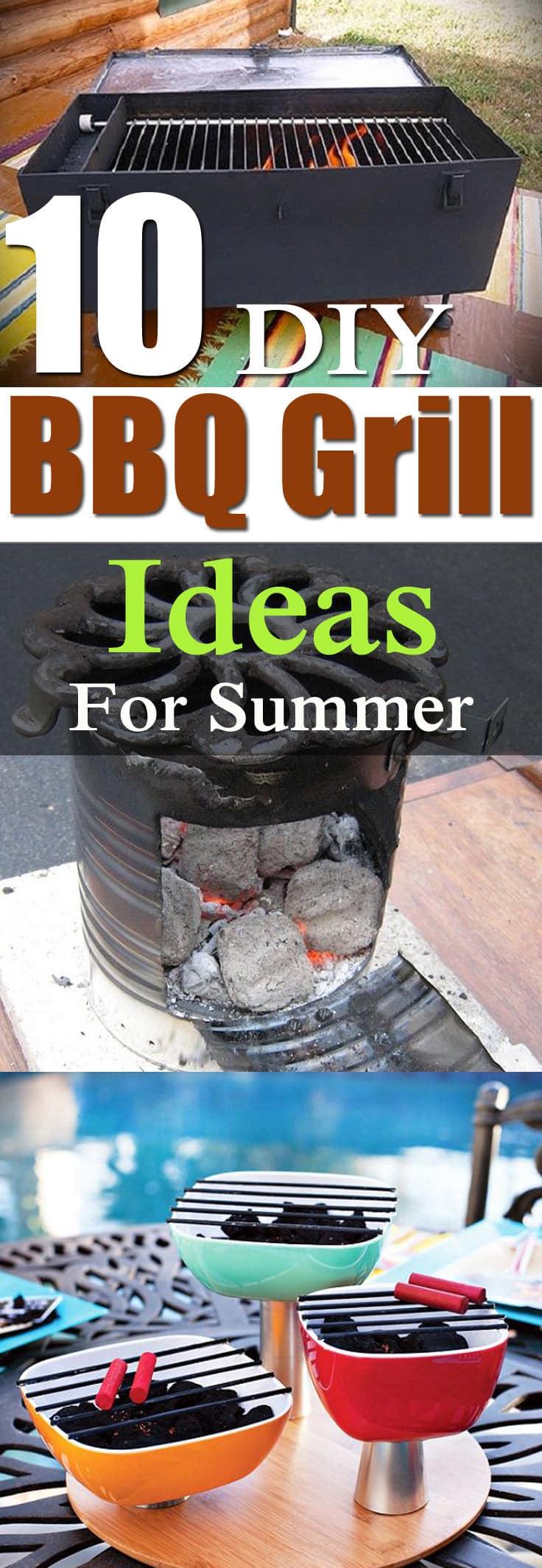 10 DIY BBQ Grill Ideas For Summer | Balcony Garden Web on Diy Bbq Patio id=66047