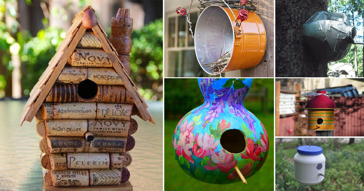 28 Best Diy Birdhouse Ideas With Plans And Tutorials