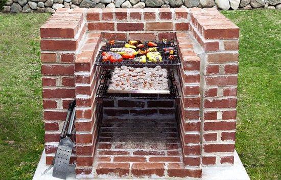 10 DIY BBQ Grill Ideas For Summer | Balcony Garden Web on Diy Bbq Patio id=94528