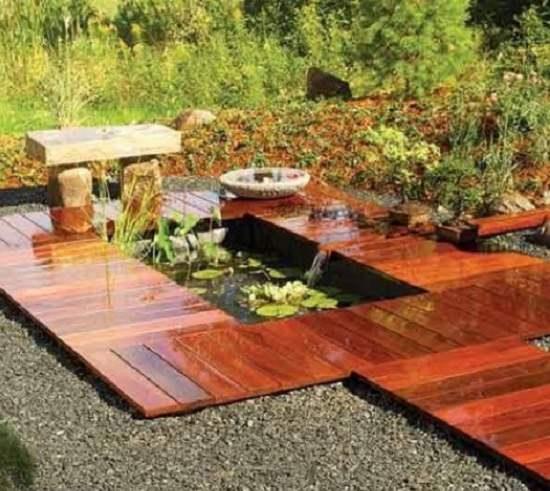DIY Water Gardens For Backyards