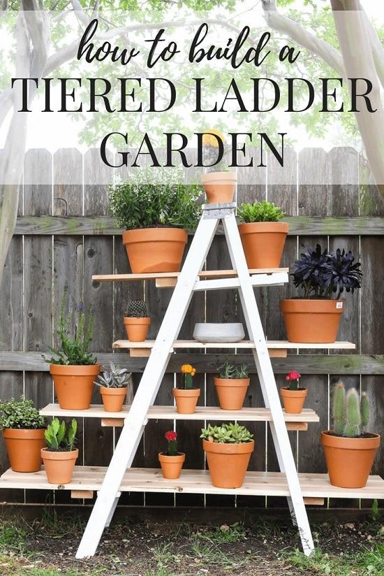 Tiered Ladder Garden