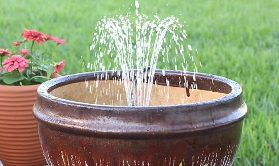 14 DIY Container Water Fountain Ideas That Are Easy And Cheap ...