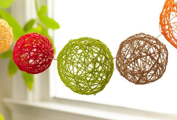 40 Must See DIY Yarn Craft Ideas For Home Garden Balcony Garden Web Custom Make Decorative String Balls