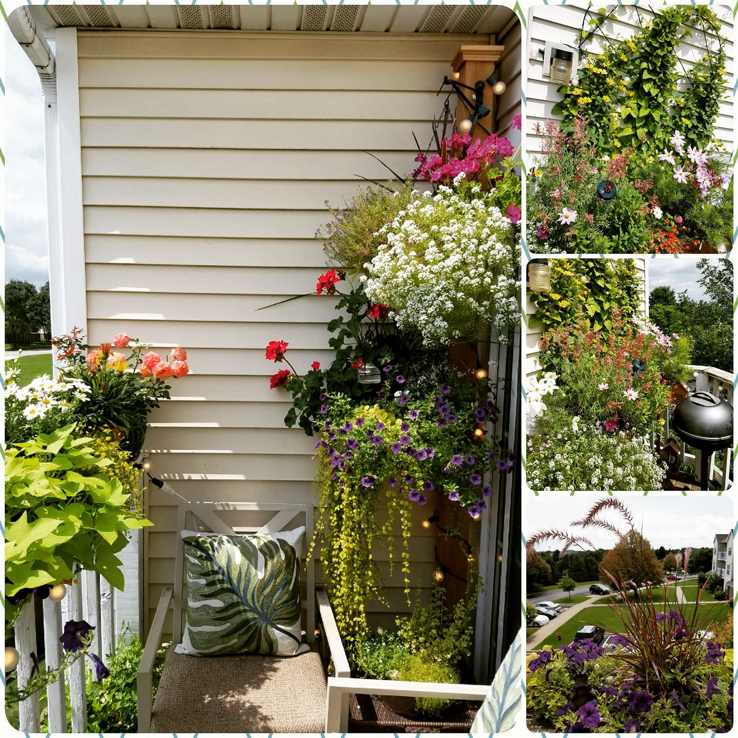 Garden Balconies: 17 Balcony Garden Pictures For Inspiration From Our