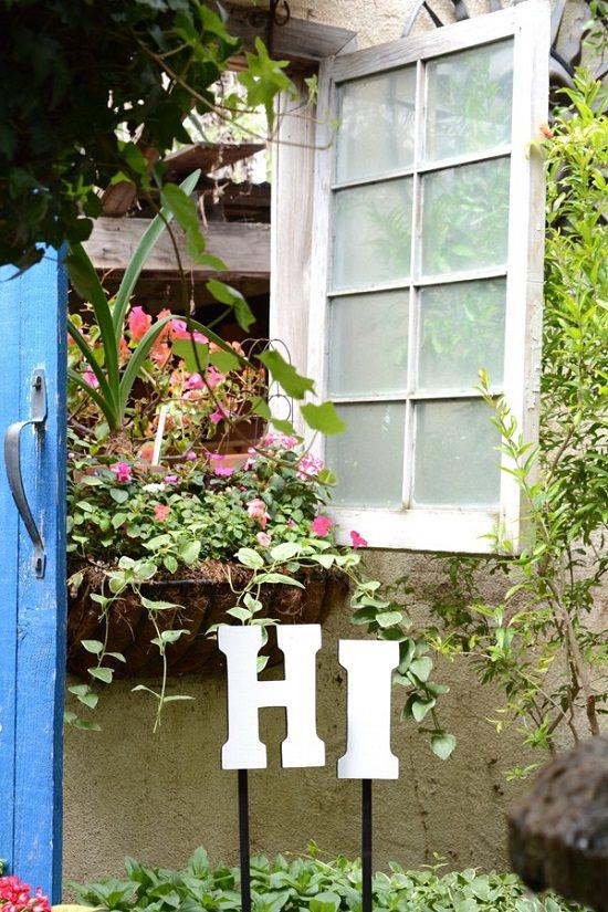 DIY Garden Stake Ideas 7