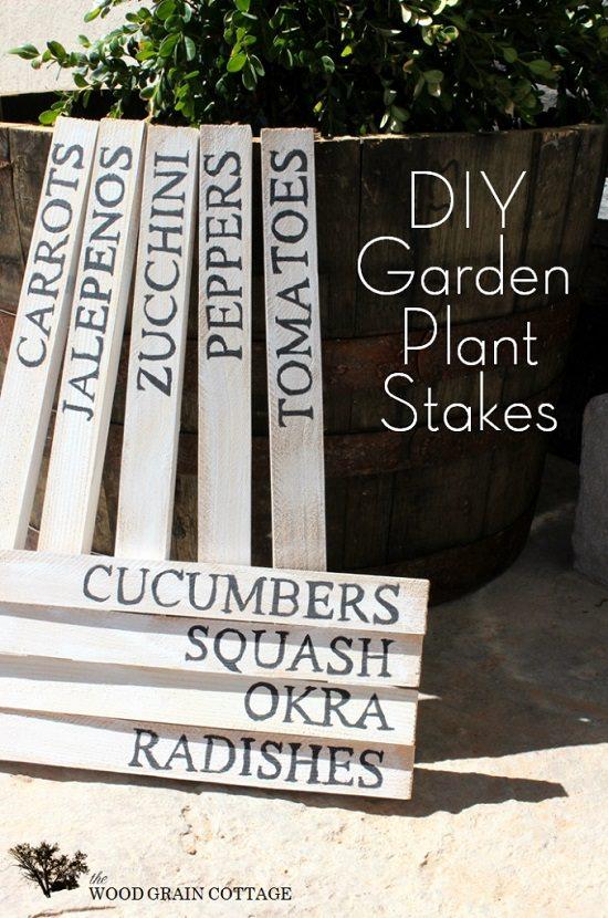 DIY Garden Stake Ideas 3