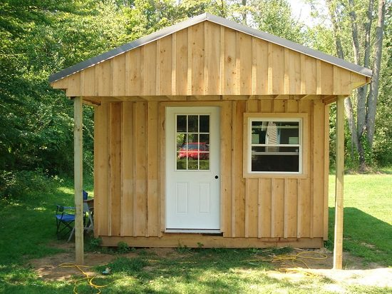Build a 12x20 Log Cabin on a Budget