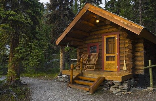 Building a Primitive Log Cabin
