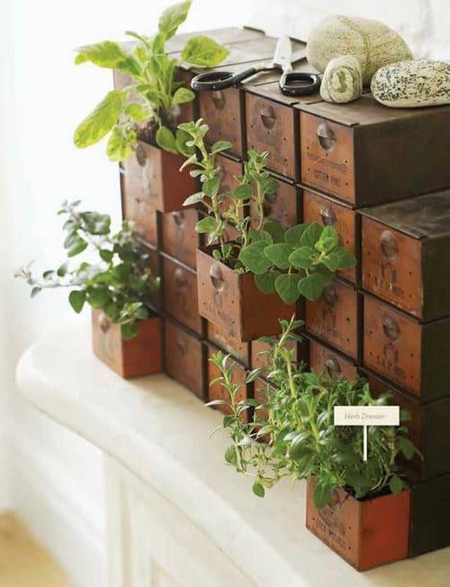 Furniture Garden Ideas 7