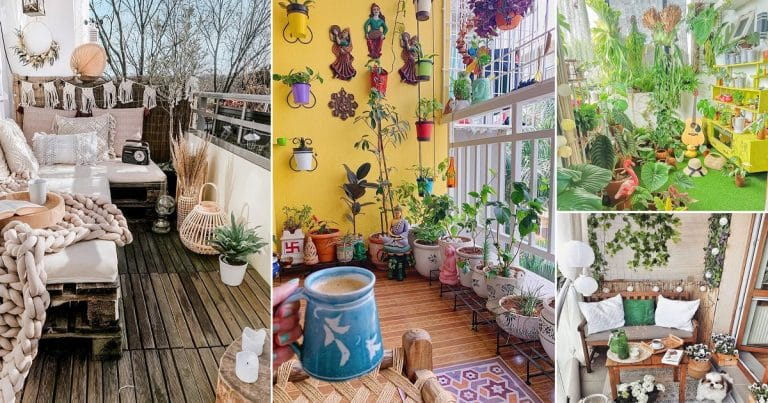 27 Awesome Balcony Garden Pictures of February 2021